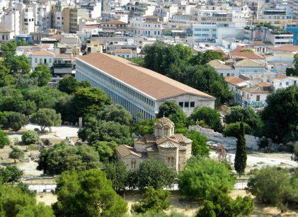Stoa of Atallos, Athen's Ancient Agora, Greece