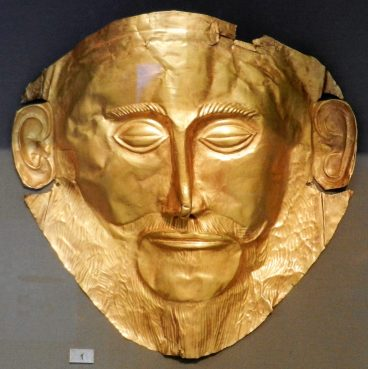 Mask of Agamemnon, National Archaeological Museum, Athens, Greece