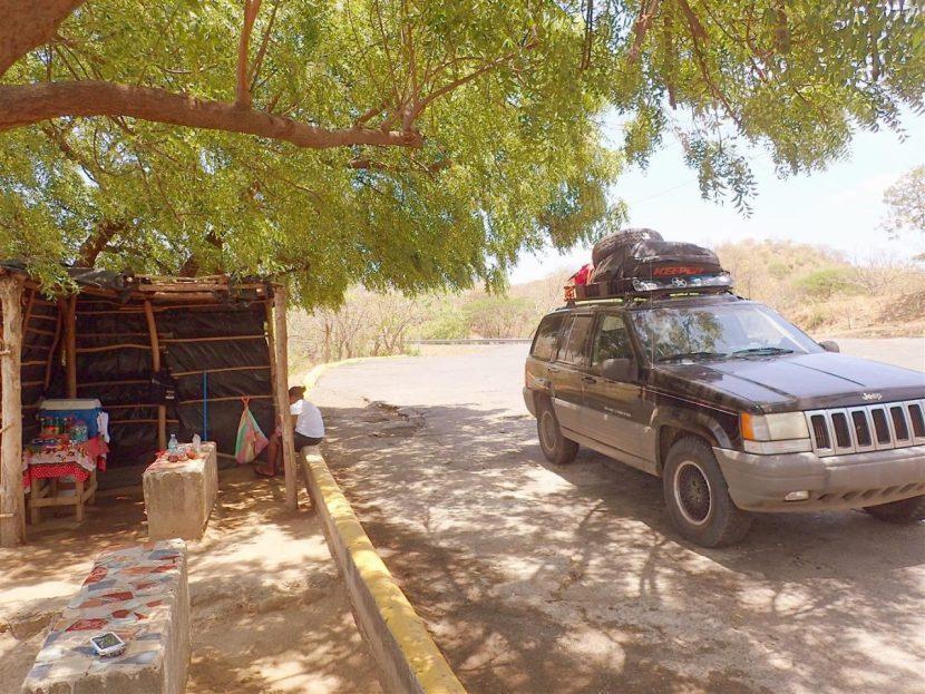 Roadside Stop To Chiltepe