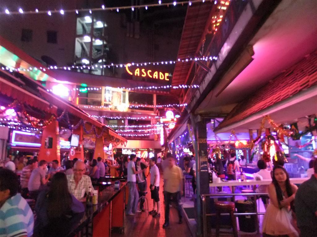 Red light district in Bangkok