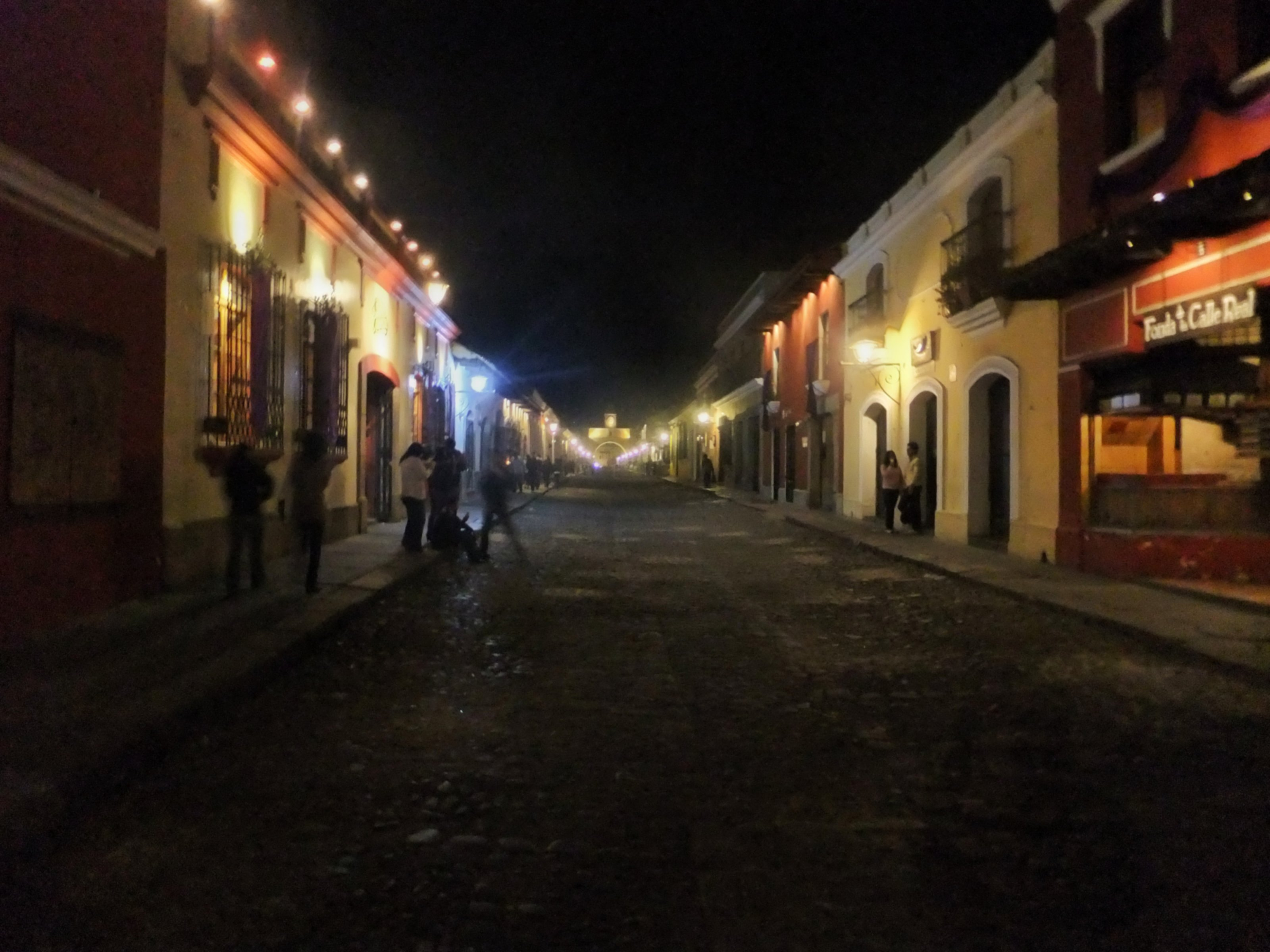 Colonial Town Of Antigua