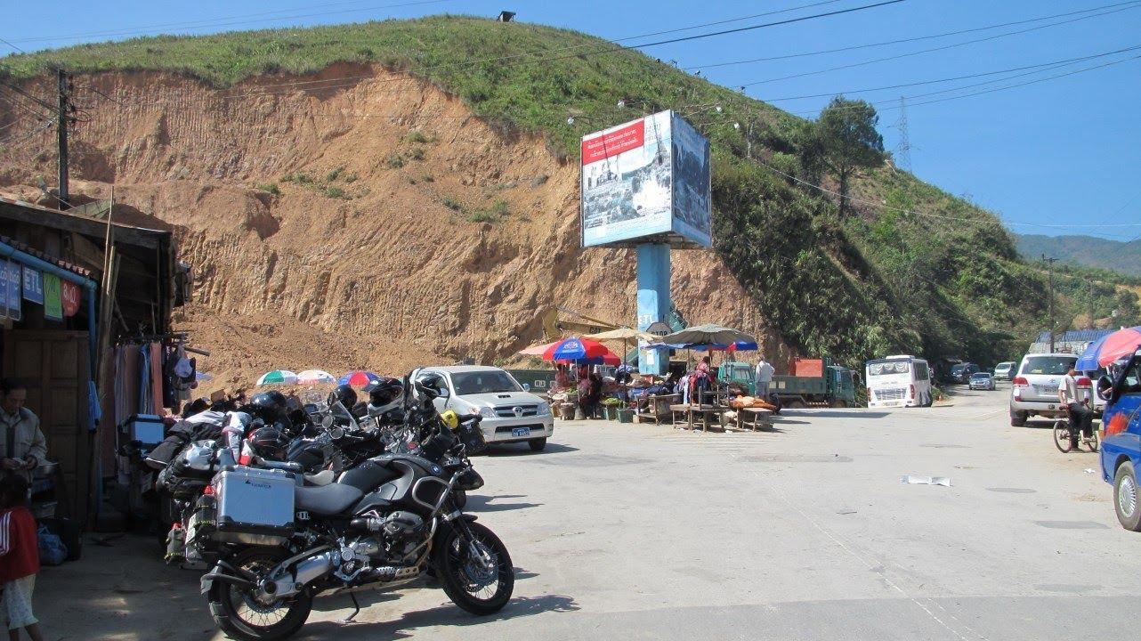 Riding Motorbikes in Laos
