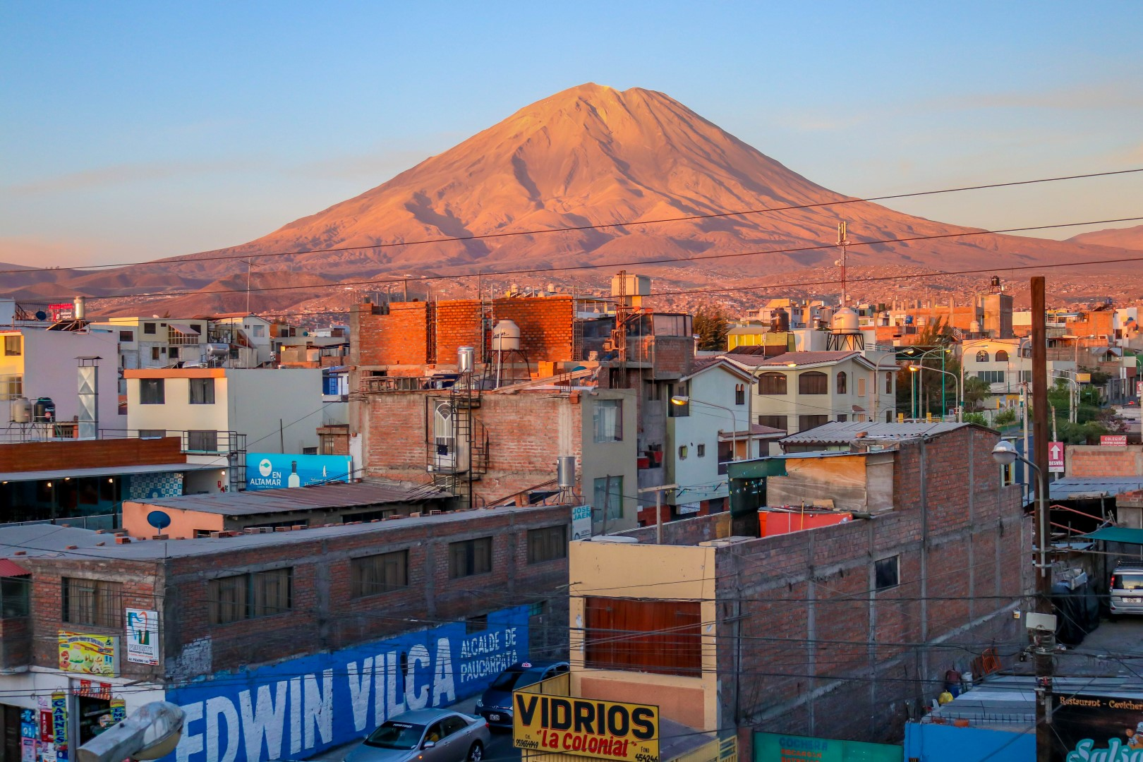 Arequipa,Peru on the Gringo Trail