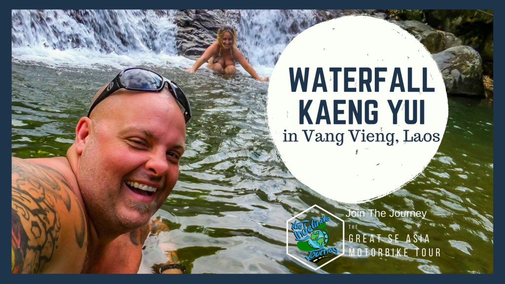 The Waterfall Kaeng Yui in Vang Vieng, Laos
