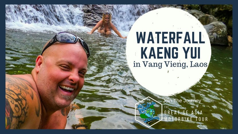The Waterfall Kaeng Yui in Vang Vieng, Laos