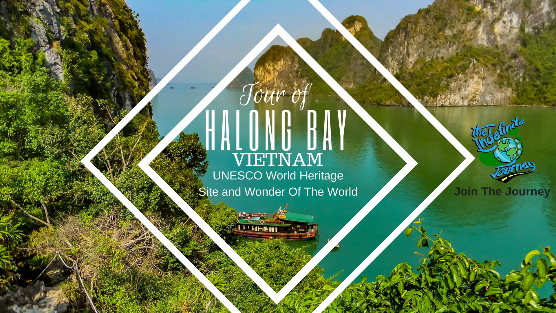 Tour Of Halong Bay, Vietnam - UNESCO World Heritage Site and Wonder Of The World