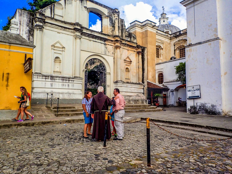 Antigua Guatemala San Francisco Church