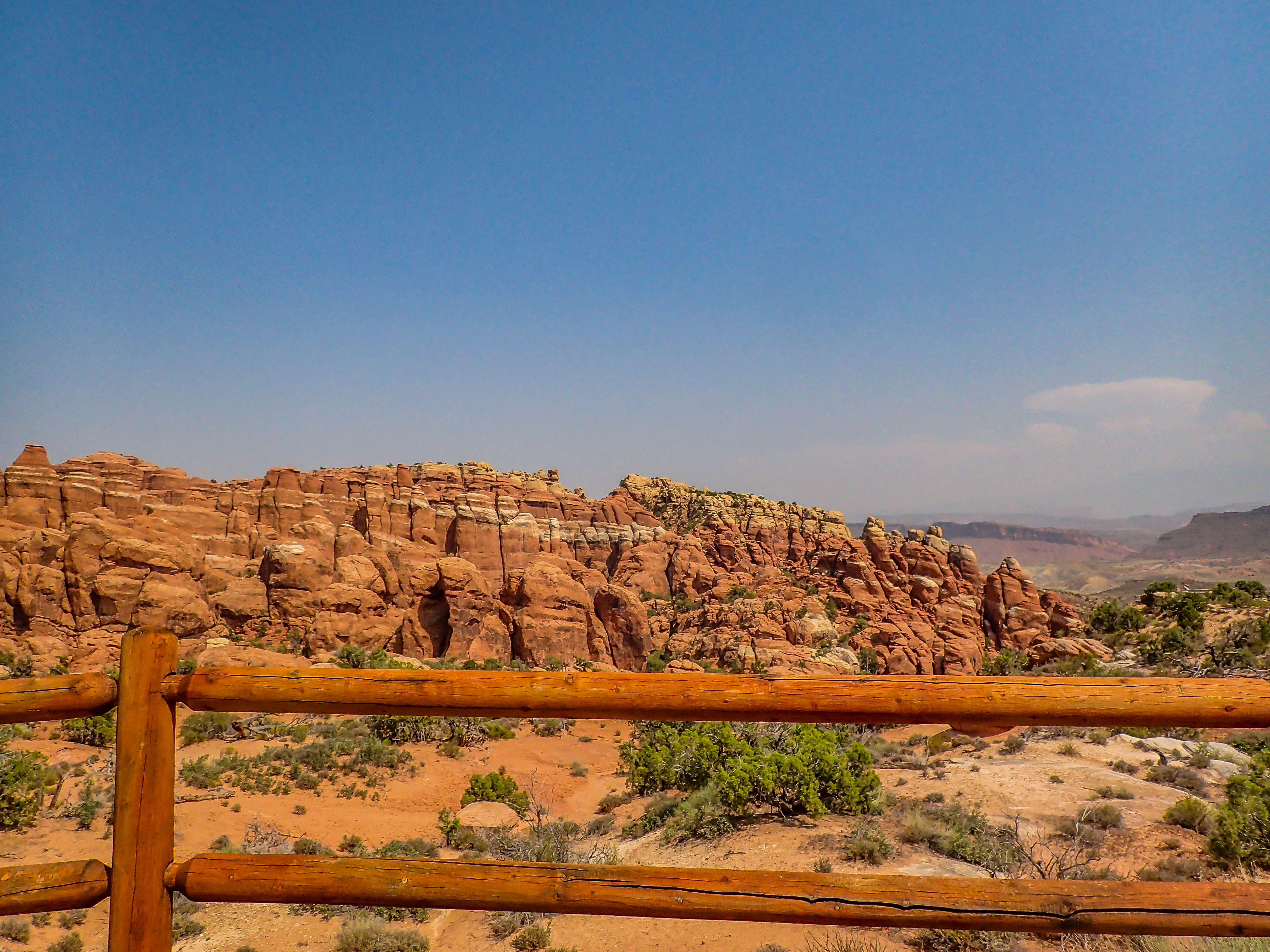 Driving Arches National Park