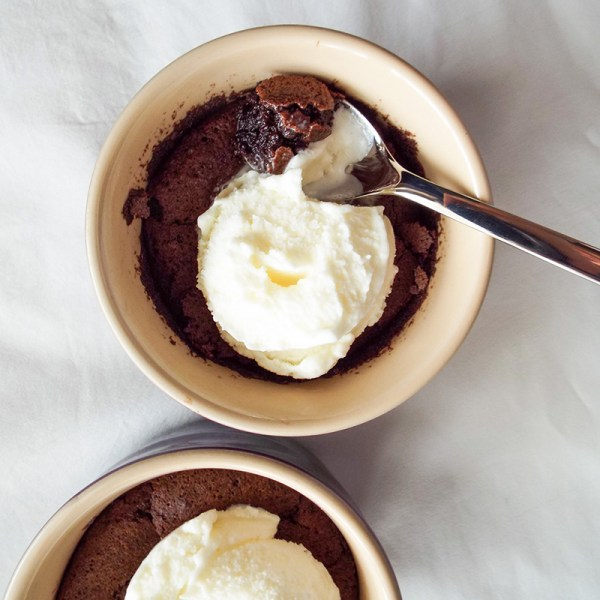flourless molten chocolate cake lava easy