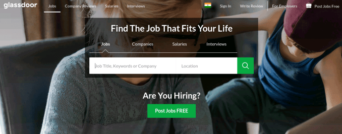 Glassdoor - Best Job Site to choose a right company