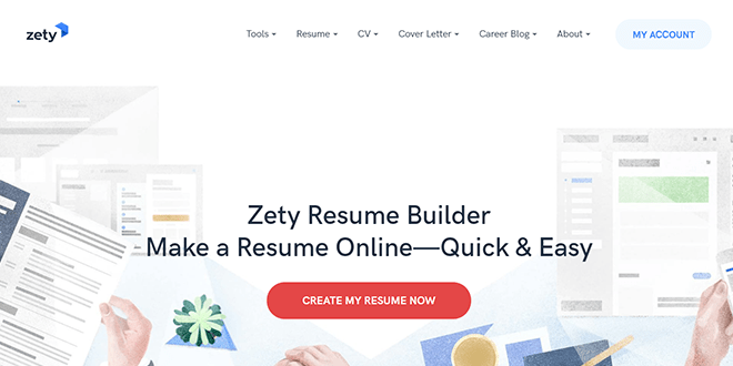 Resume Builder Websites