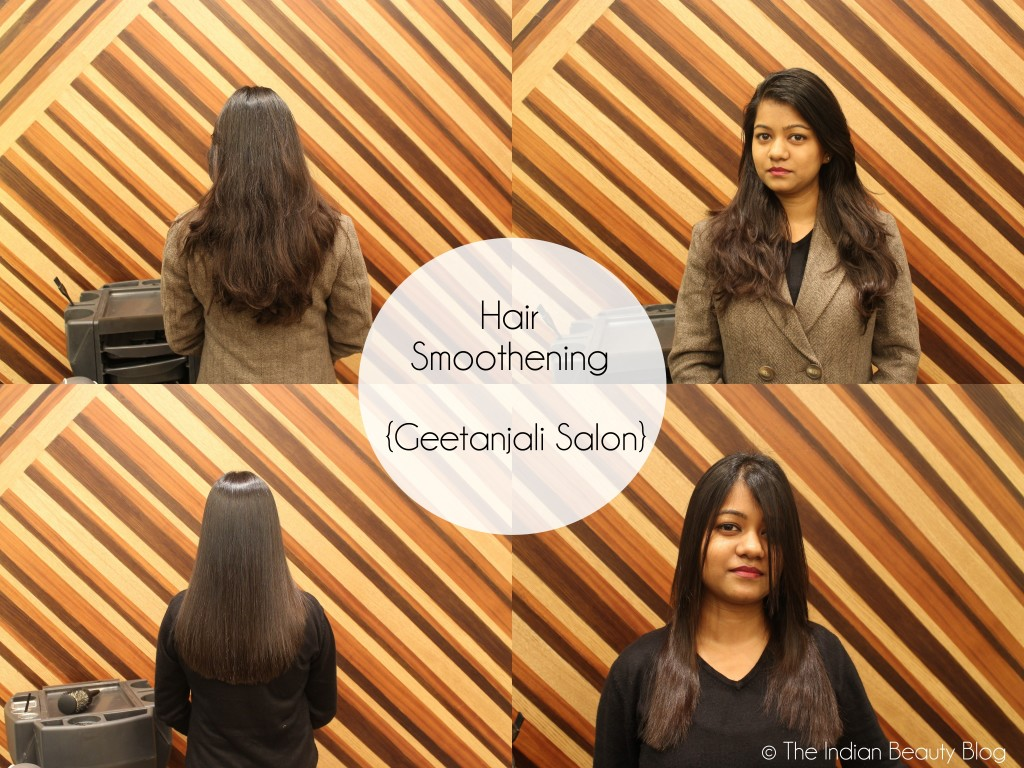 My Hair Smoothening Experience At Geetanjali Salon Review