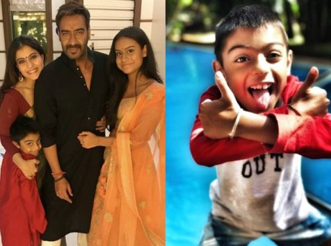 Kajol Is Super Proud Of Hubby Ajay Devgn In Raid But Son Yug Has A Funny Take On It