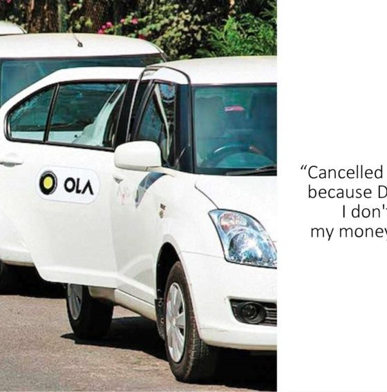 This Man Cancelled His Ola Cab Because The Driver Was A Muslim And Twitter Users Did Their Job