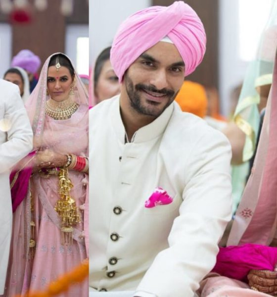 Just In: Bollywood Actor Angad Bedi Marries Neha Dhupia, See Pictures