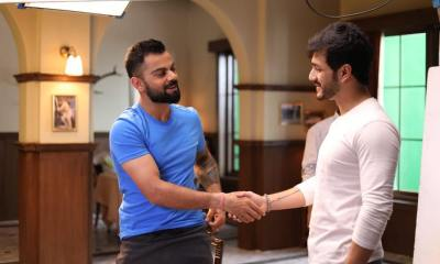 Telugu Movie Star Akhil Akkineni Bumps Into Virat Kohli, Calls Him The Champion