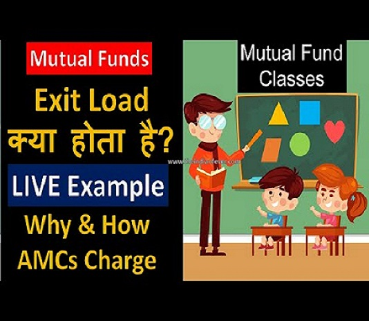 mutual fund exit loads