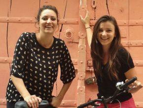 Ophélie et Éléonore, fondatrices de Cyclin'Jaipur