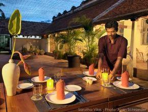 Table d'hôtes à Saratha Vilas