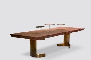 table soucoupe de Thierry Betancourt