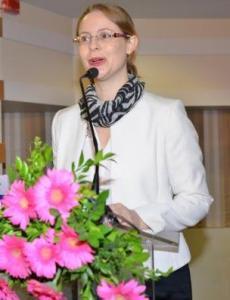 Laura Prasad fondatrice de Spice Route Solutions et ancienne secrétaire générale de l'IFCCI