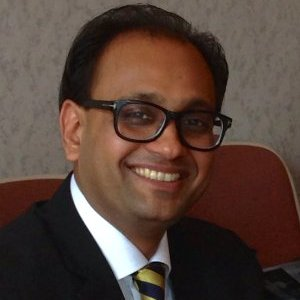 Pic of Udyen Jain, UJA foundator smiling