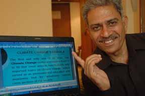 DR. R.K. SURI, ADDL DIRECTOR MOEF, Govt of India showing GREEN TAMBOLA he designed.jpg