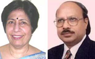 Dr. Pratibha Singhi, Professor, Chief Pediatric Neurology and Dr.K.L.Gupta, Professor of Nephrology