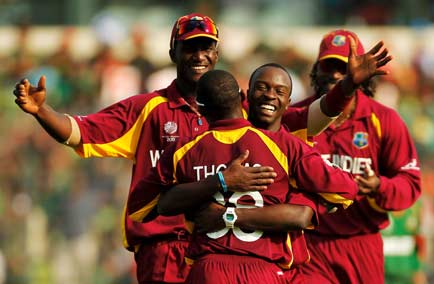 West Indies record a surprisingly comfortable win over Bangladesh