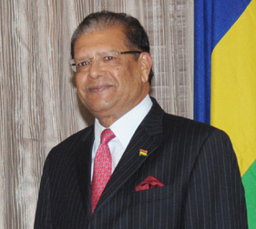 Mauritius President Rajkeswur Purryag