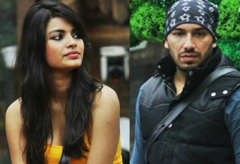 Sonali Raut and Ali Quli Mirza in Bigg Boss.