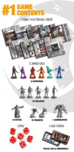 Zombicide component list
