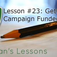 Lesson #23 - Getting A Struggling Kickstarter Campaign to Fund