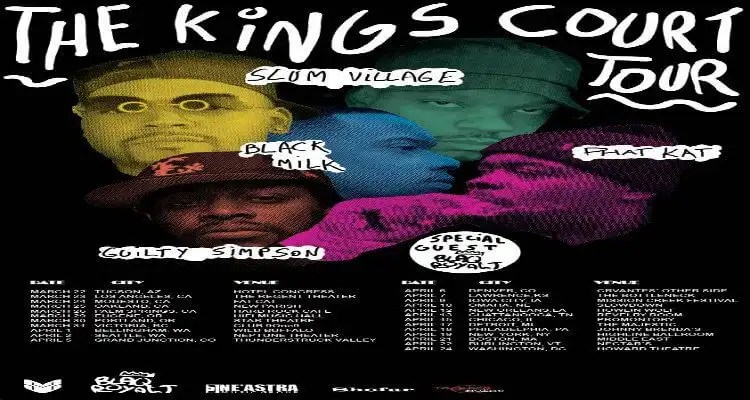 Slum Village & Black Milk Present the J Dilla Tribute Tour