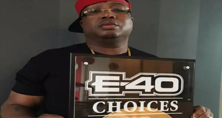 "E-40's ""Choices"" Certified Gold"