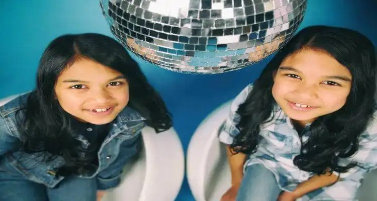 'The Real' Parties with Ten Year-Old DJ Duo, DJs Amira and Kayla
