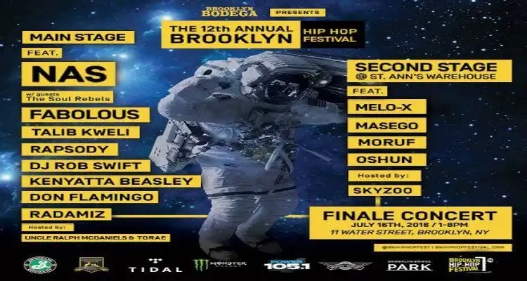 Brooklyn Hip-Hop Festival Second Stage Artists Announcement