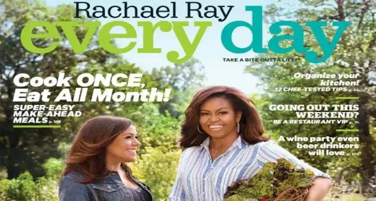Michelle Obama Covers Rachael Ray Every Day Magazine