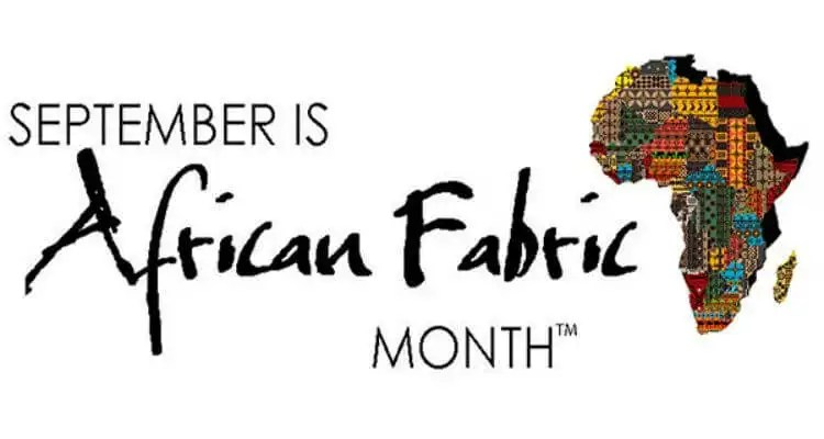 September Is African Fabric Month