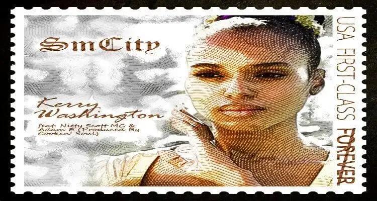 SmCity - Kerry Washington - feat. Nitty Scott MC & Adam E