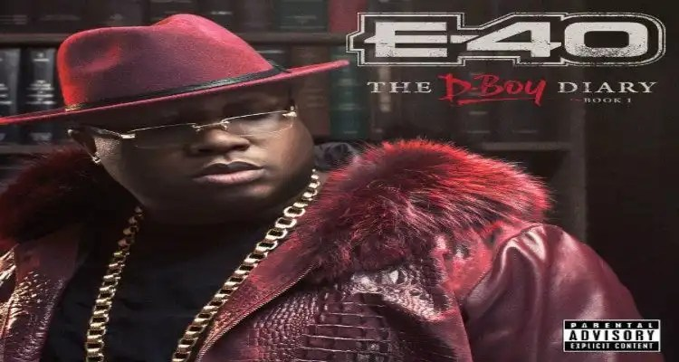 E-40: The D-Boy Diary Books 1 & 2, Out November 18th
