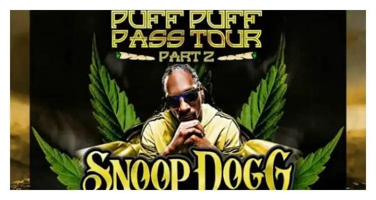 Snoop Dogg Announces 'Puff Puff Pass Tour Part 2'