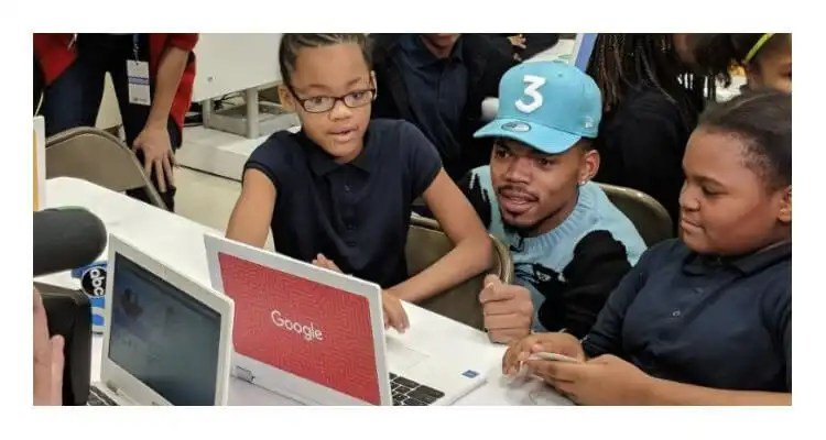 Google.org Donates $1M Grant to Chance the Rapper's SocialWorks Non-Profit