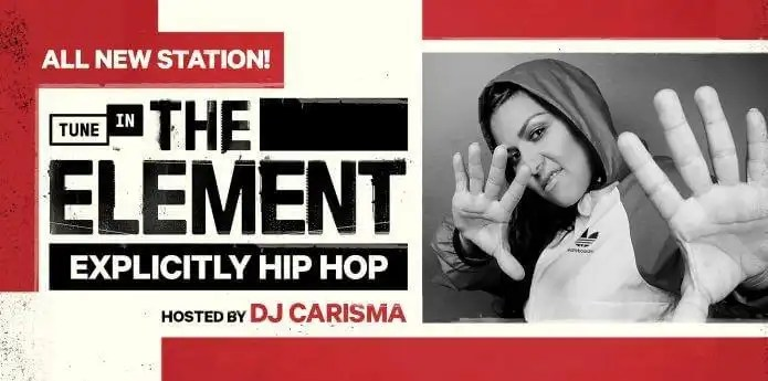 TuneIn Announces the Debut of 'The Element,' Hosted by DJ Carisma