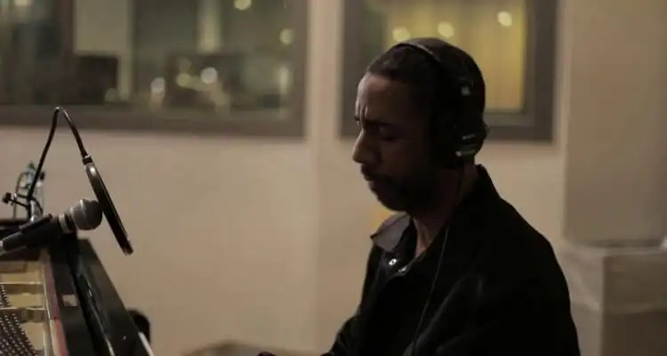 Ryan Leslie - 'Thankful' In-Studio