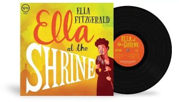 Ella Fitzgerald's 'Ella At The Shrine' Now Available