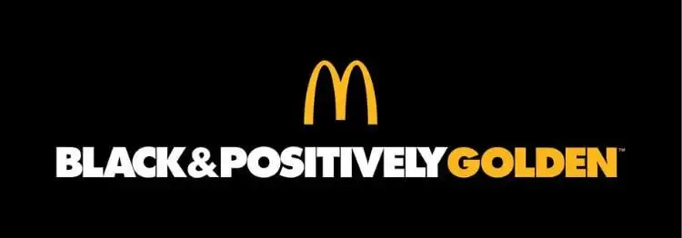 McDonald's Launches Black & Positively Golden