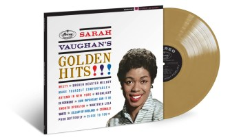 Sarah Vaughan's Golden Hits to be Released August 30th