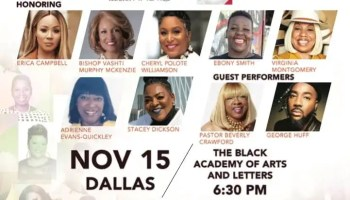 2nd Annual Dallas Salute Her Awards Presented by Toyota Dynamic Class of Honorees Friday, November 15
