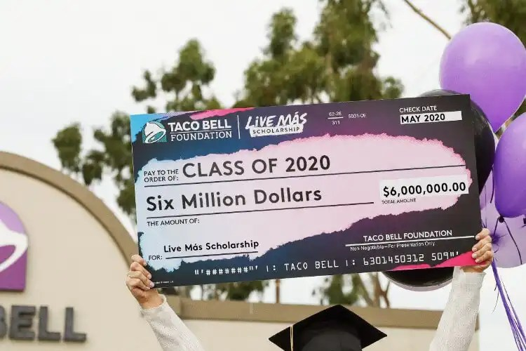 Taco Bell Foundation Opens Applications for $6 Million in Live Más Scholarships